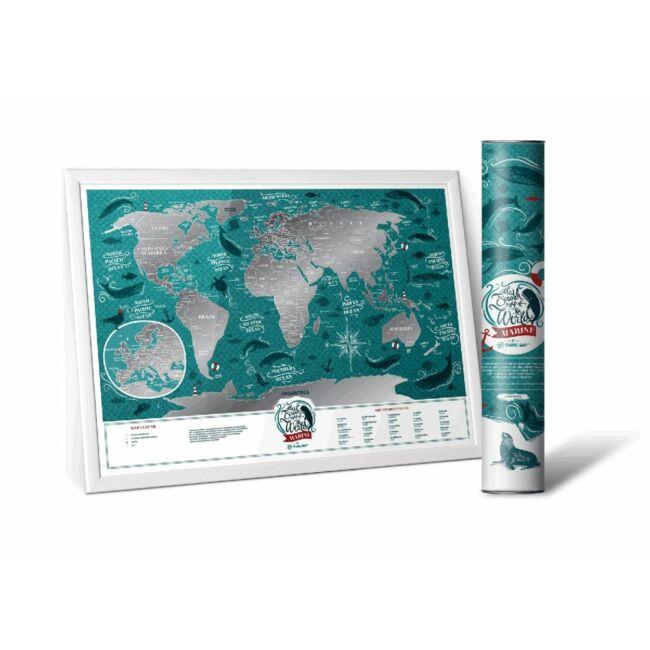 Kaparós Térkép Tengeri Világ