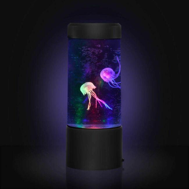 Mini medúza akvárium hangulatvilágítás