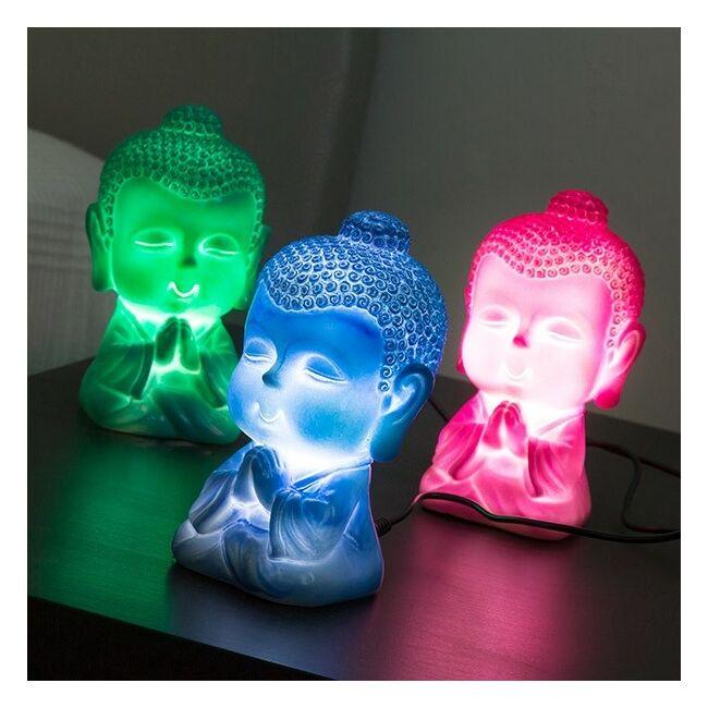 Mini Buddha Hangulat világítás Kék