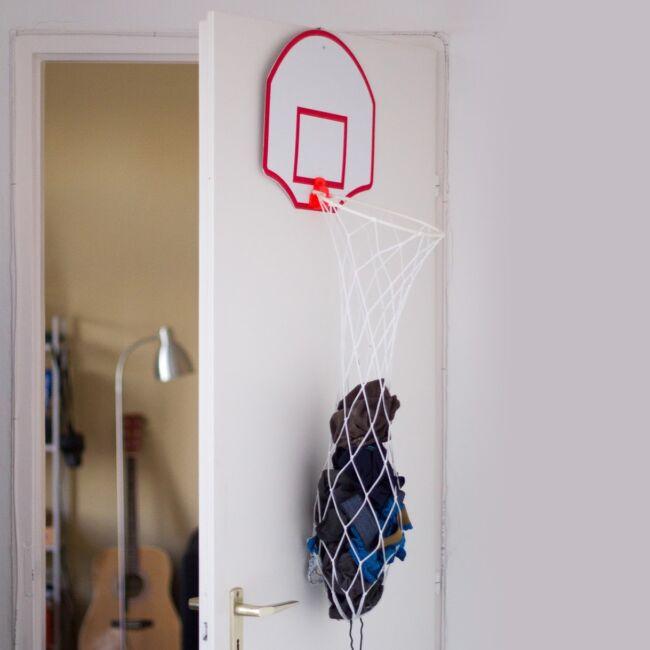 Kosárlabdapalánk szennyestartó