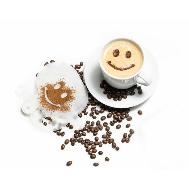 Kávé díszítő barista sablonok  16 sablon