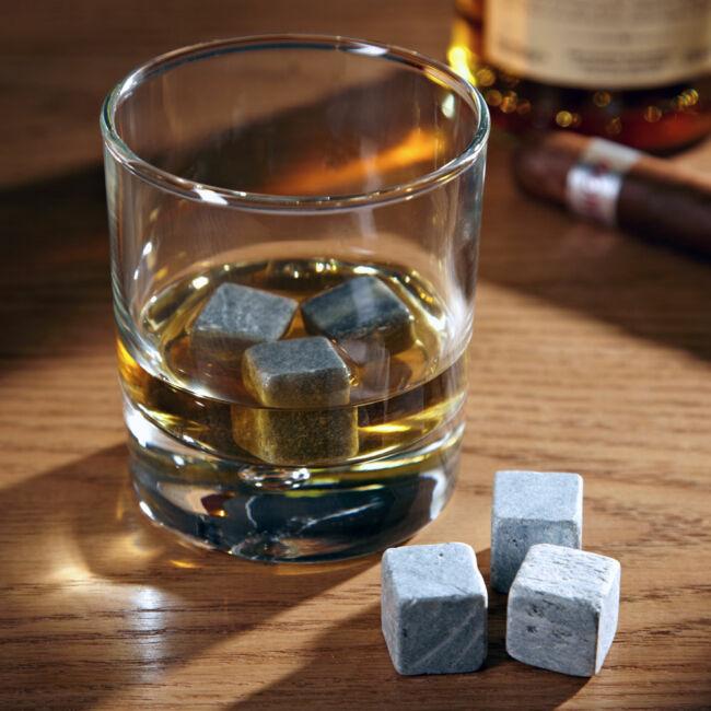 Jégkő Whiskey-hez (9 db) díszdobozban
