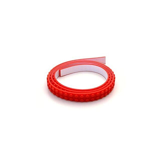 Öntapadós építőkocka szalag Piros