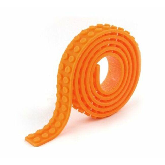 Öntapadós építőkocka szalag Narancssárga