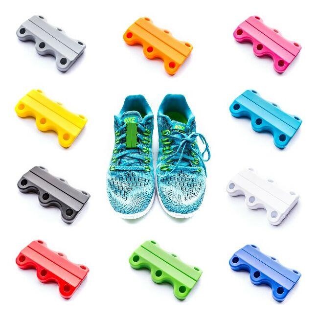 Clicks life - mágneses cipőfűző több színben Lila