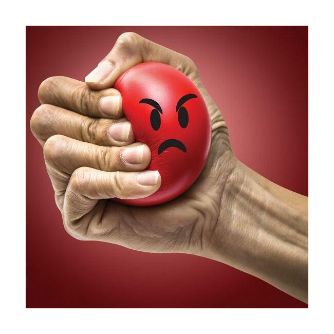 Emoji stressz labda