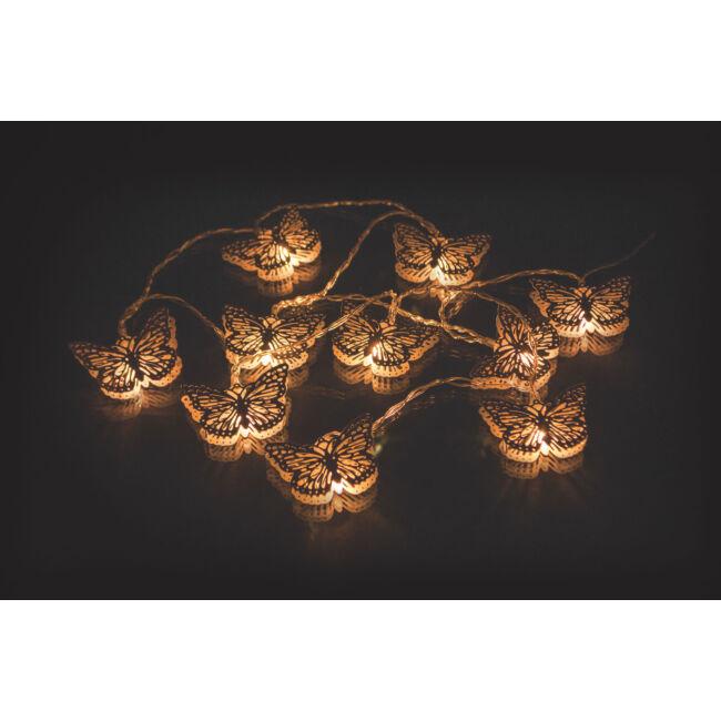Pillangó led fényfűzér