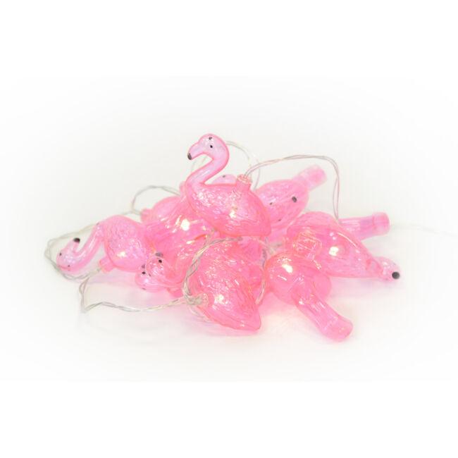 Flamingó led fényfűzér