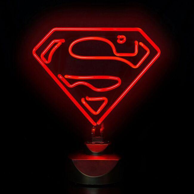 Superman Neon Lámpa