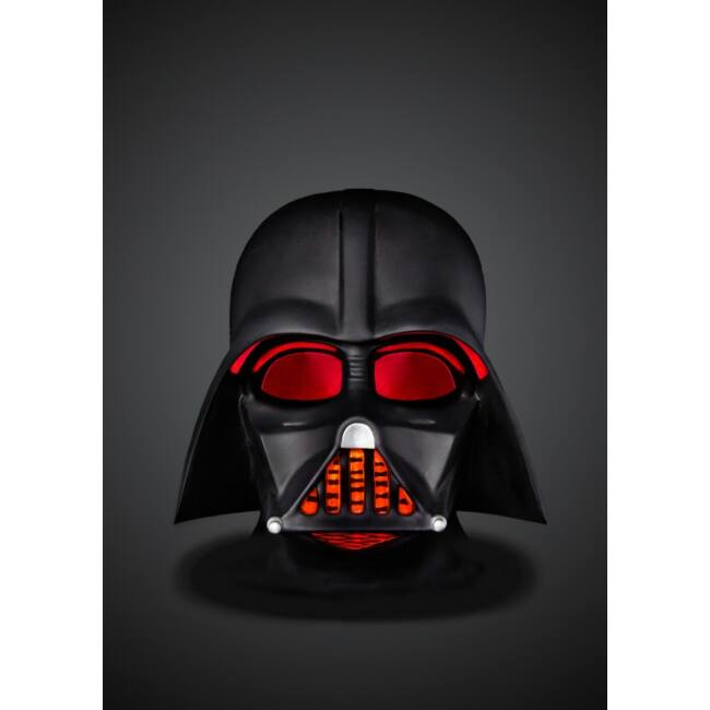 Star Wars 3D Darth Vader fej hangulatvilágítás