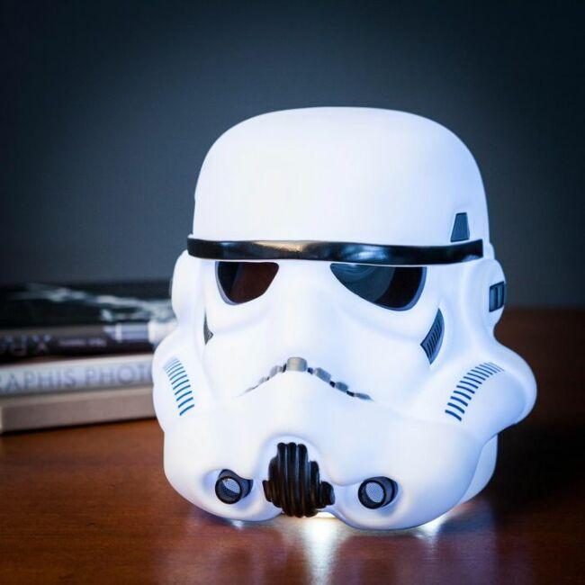 Star Wars Stormtrooper 3D rohamosztagos sisak hangulatvilágítás