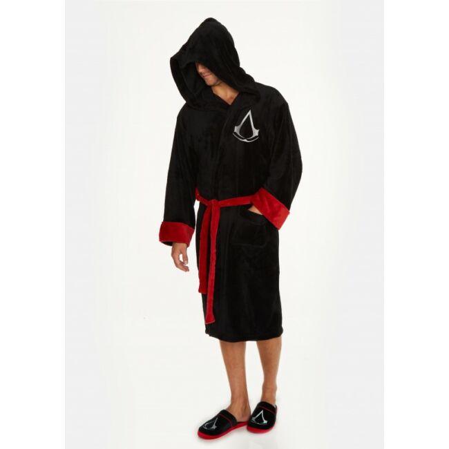 Assassins Creed fürdőköntös Fekete
