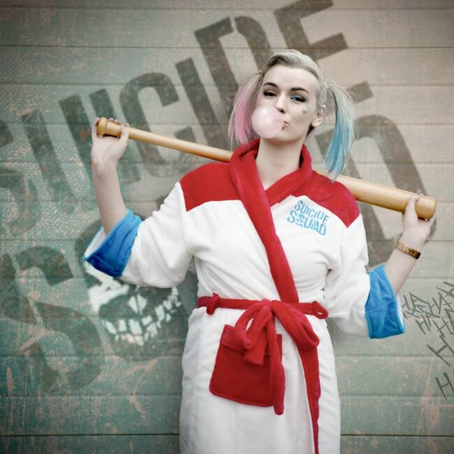 Suicide Squad Harley Quinn Apuci kicsi szörnye női fürdőköntös