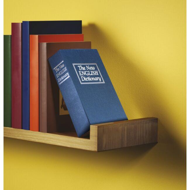 Könyv széf kék