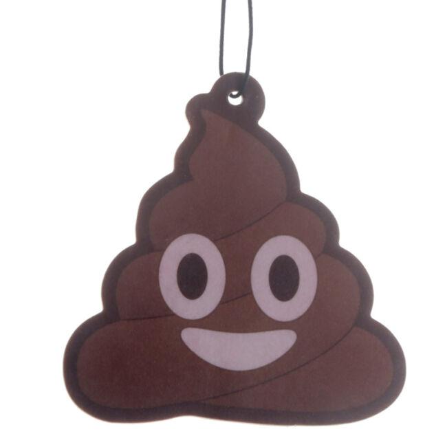 Emoji kaki illatosító - csoki illatú