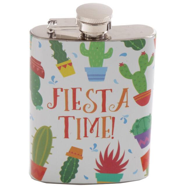 Kaktusz mintás flaska