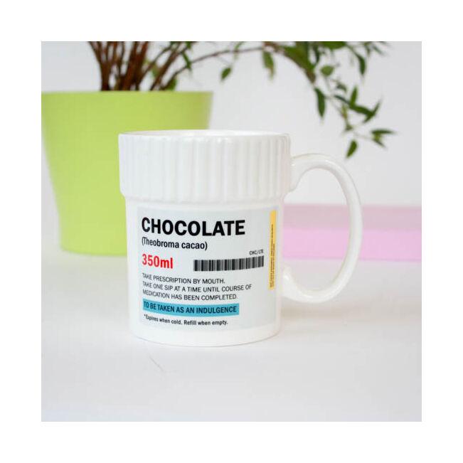 Gyógy csokoládé bögre