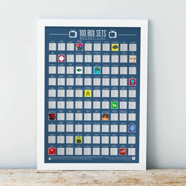 Kaparós poszter - 100 sorozat amit végig kell nézned