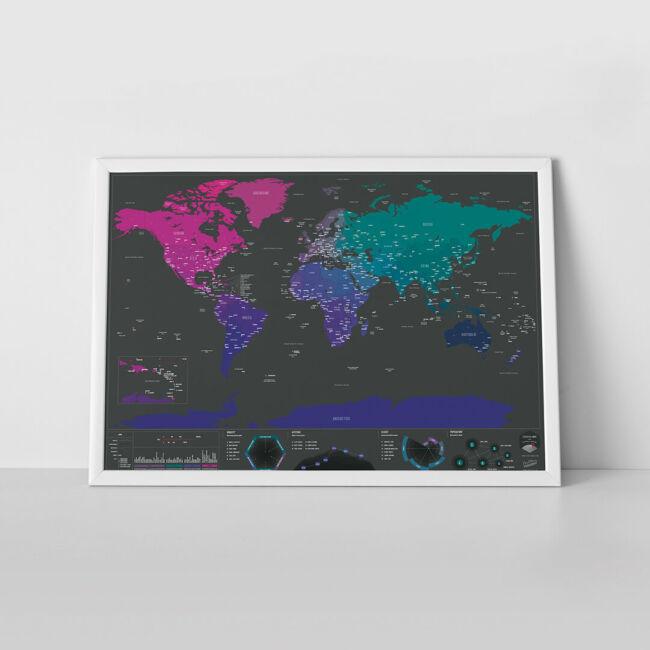 Kaparós térkép - Fővárosok