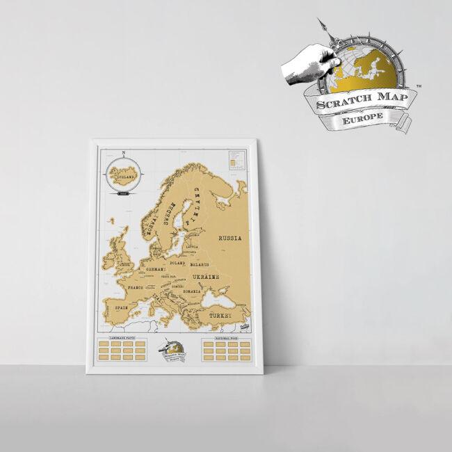 Kaparós Európa térkép