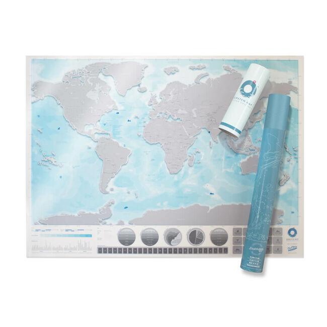 Kaparós térkép - Óceánok