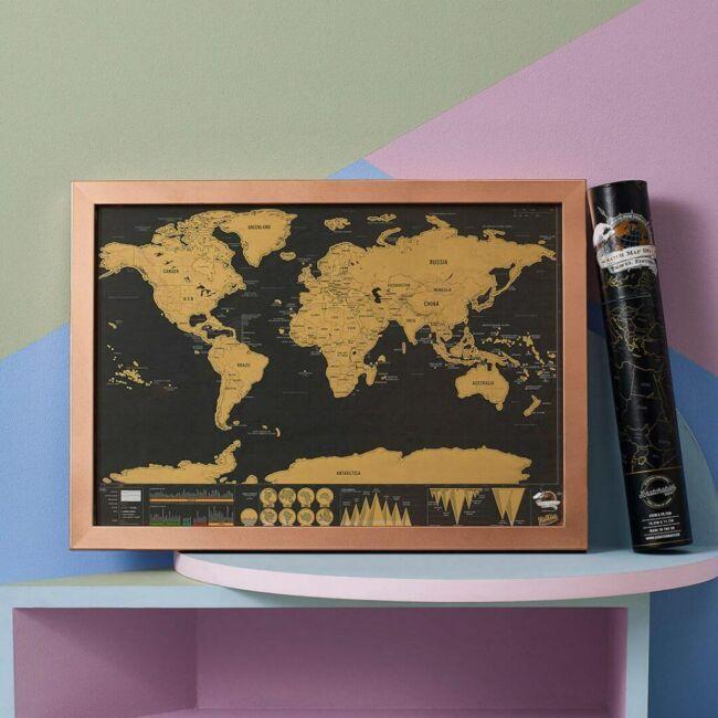 Kaparós térkép Deluxe - mini, utazó változatban