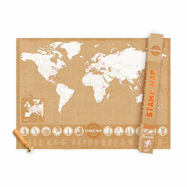 Pecsétes világtérkép