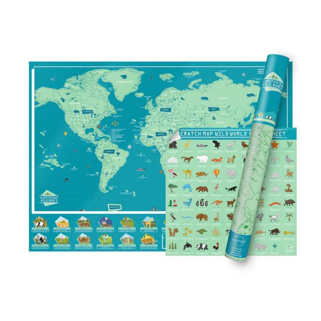 Kaparós térkép - Vad Világ változatban