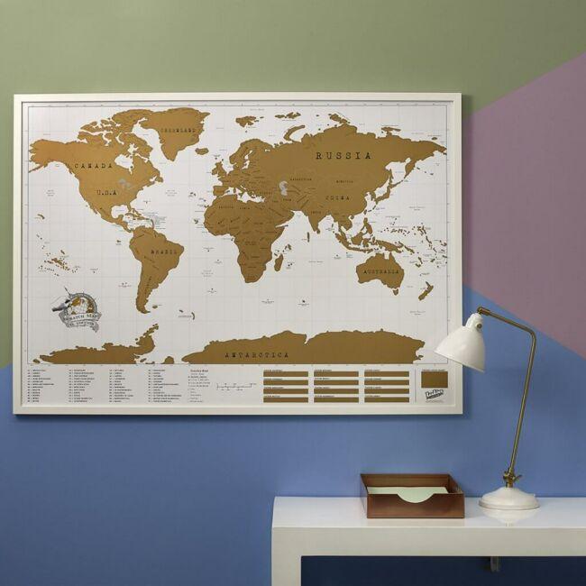 Kaparós térkép - XXL-es változatban