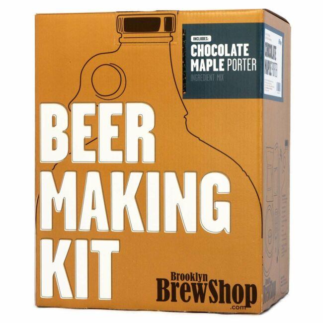 Brooklyn Brew Shop - Sörkészítő szettek Chocolate Maple Porter