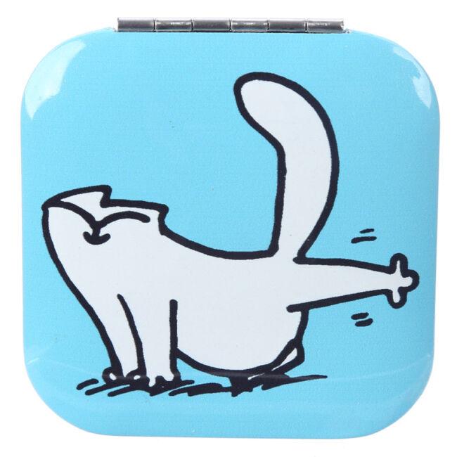 Simon macskája zsebtükör Kék
