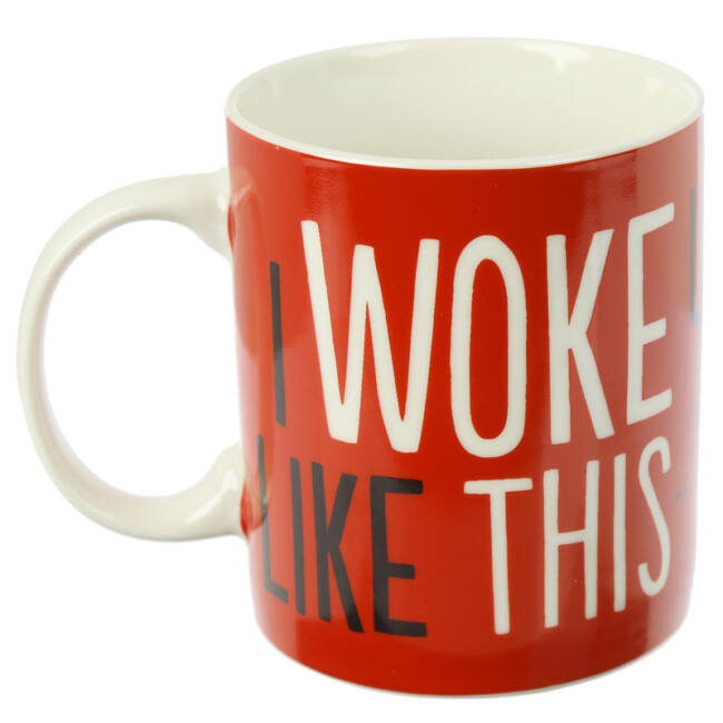 Simon macskája bögre - I woke up like this