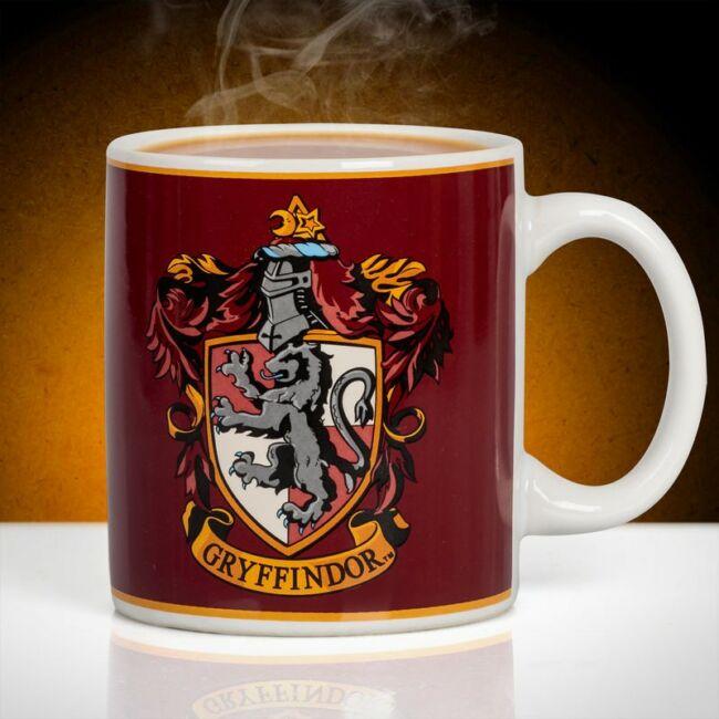 Harry Potter Griffendél ház bögre