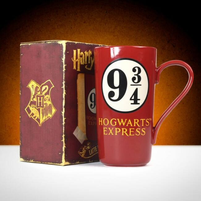 Harry Potter latte bögre - 9 ÉS  3/4 -ED VÁGÁNY
