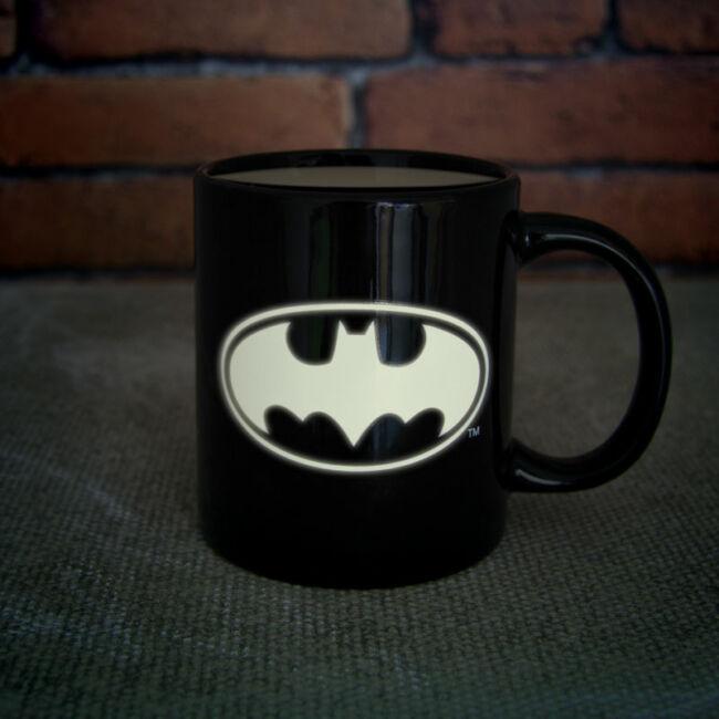 Batman fluoreszkáló bögre