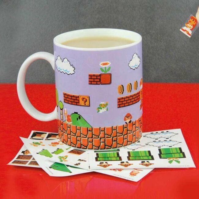 Építsd saját szintet Super Mario bögre