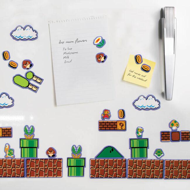 Super Mario mágnes készlet (80 db)
