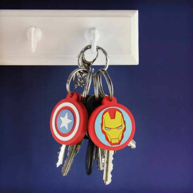 Marvel Bosszúállók kulcsjelölő