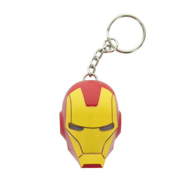 Iron Man világítós kulcstartó