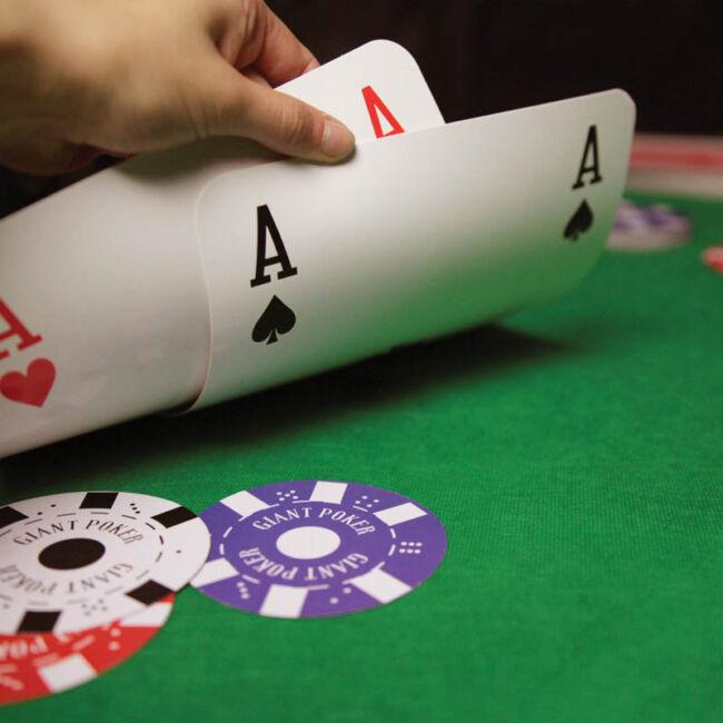Gigantikus póker szett