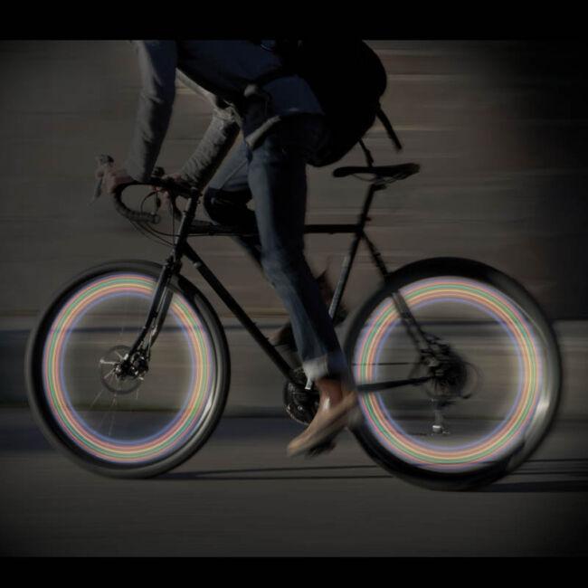 Kerékpár kerék LED Világítás