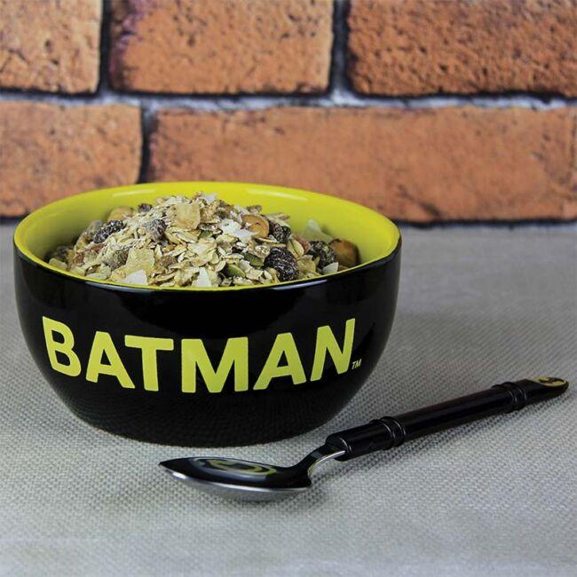Batman reggeliző szett