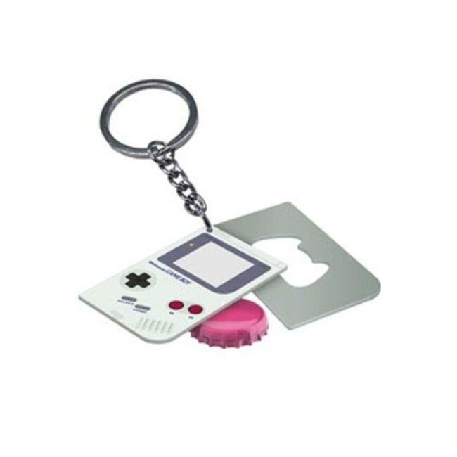 Nintendo Game Boy sörnyitós kulcstartó