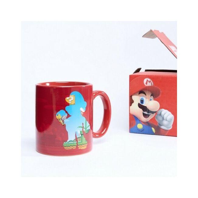 Super Mario Bros. hőre változó bögre