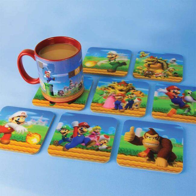 Super Mario 3D poháralátét