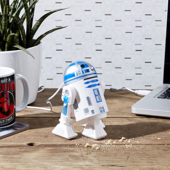 R2D2 asztali USB-s porszívó