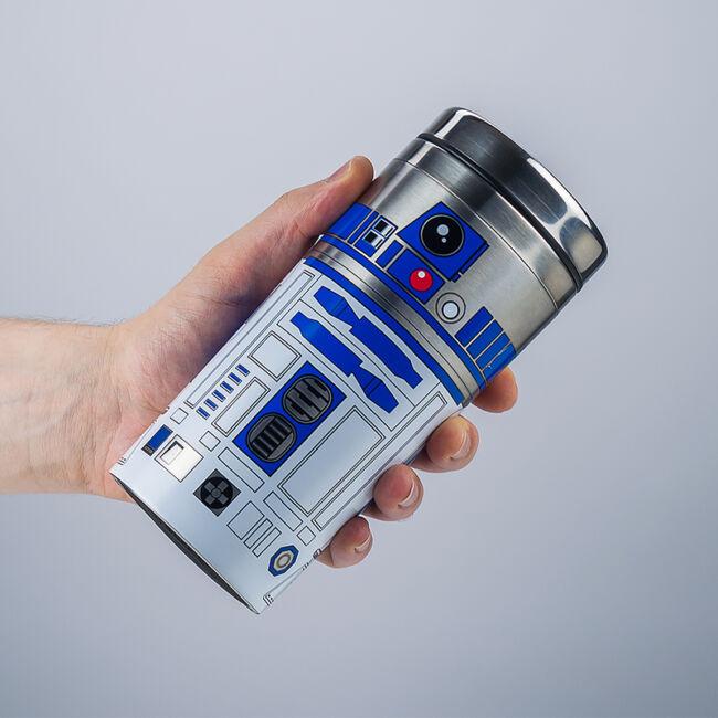 Star Wars R2D2 utazó bögre