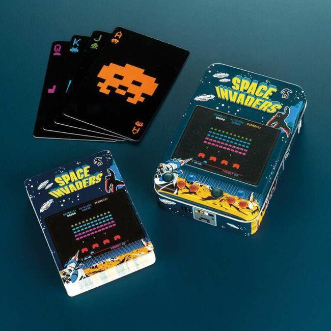 Space Invaders francia kártyapakli