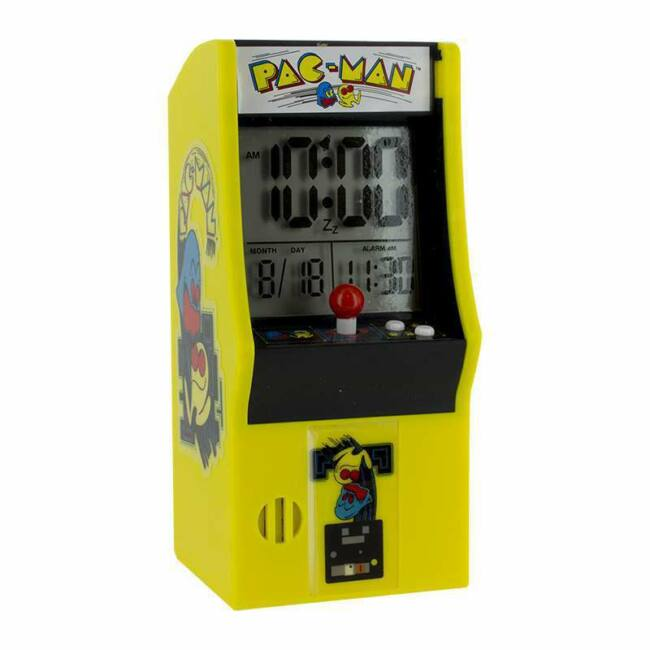 Pac-Man játékgép ébresztő óra