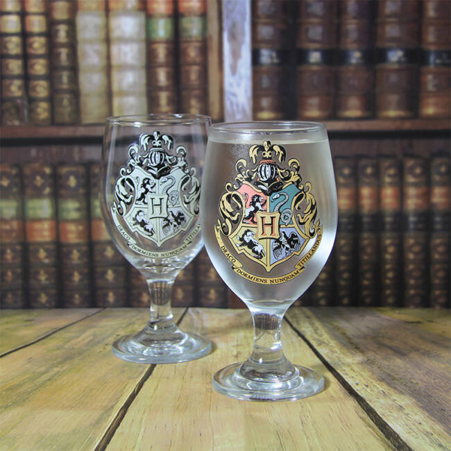 Harry Potter Hogwarts hőre változó pohár